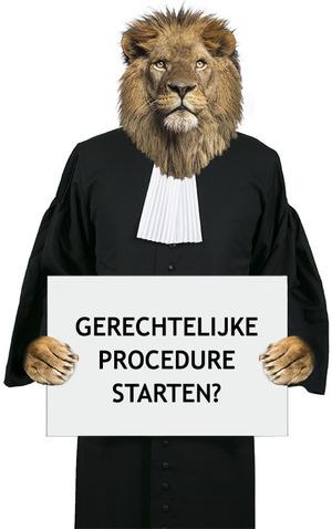 gerechtelijke procedure starten