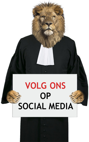 volg e-legal op social media